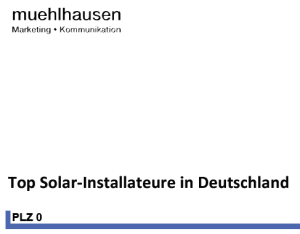 Top-Solar-Installateure