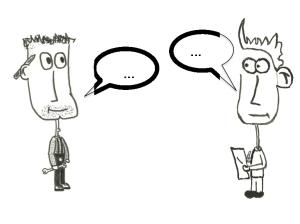 Kundengespräch