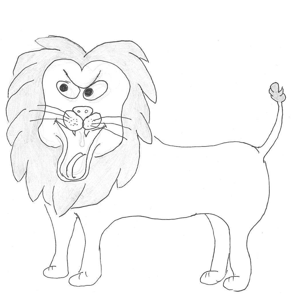 von Löwen und Menschen