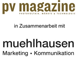Muehlhausen Marketing und Kommunikation in Zusammenarbeit mit pv magazine